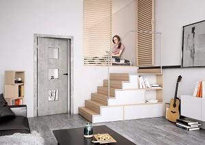 Modern dve e v modern m interi ru nov bydlen aktu ln nab dka byt dom a pozemk v cel r - Beton door lcda ...